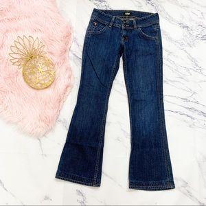Hudson Signature Flap Pocket Bootcut Jeans Size 25